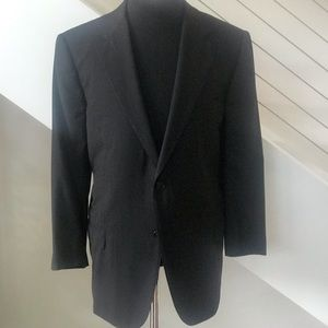 Zegna Men's Black Wool Sport Jacket. Gently Used.
